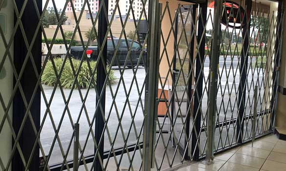 Sliding Security Gates